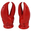 Kaldun & Bogle Ocean of Abundance Lobster Claw Salt and Pepper Set