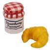 Kaldun & Bogle Croissant and Jam Salt and Pepper Set