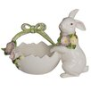 <strong>French Fields Tulip Bunny Egg Shell Basket</strong> by Kaldun & Bogle