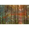 Marmont HIll Through the Trees - Art Print on Premium Canvas