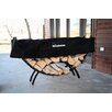 Woodhaven Steel Crescent Log Rack