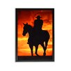 "TrekDecor ""Cowboy Sunset"" Photographic Print on Canvas"