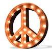 TrekDecor Icons Peace Symbol Wall Decor