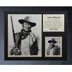 Legends Never Die John Wayne - John Wayne Framed Photo Collage