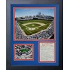Legends Never Die Chicago Cubs - The Field Framed Photo Collage