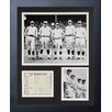 Legends Never Die New York Yankees - 1927 Murderer's Row Framed Photo Collage