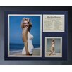Legends Never Die Marilyn Monroe - Beach Framed Photo Collage