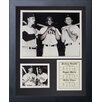 Legends Never Die New York Yankees - Mantle, Maris & Mays Framed Photo Collage