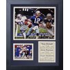 Legends Never Die Dallas Cowboys 1970's Big Three Framed Photo Collage