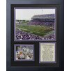 Legends Never Die Kansas State Wildcats - Bill Snyder Family Football Stadium Framed Memorabilia