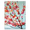 Artist Lane Magnolia Bloom by Anna Blatman Painting Print on Canvas