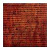 <strong>Burnt Orange Grid 1 by Katherine Boland Painting Print on Canvas</strong> by Artist Lane