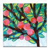 Artist Lane Red Apple by Anna Blatman Painting Print on Canvas