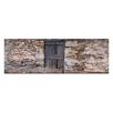 Artist Lane Stone Fence by Andrew Brown Photographic Print on Canvas