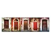 Artist Lane Doors of Italy - Le Porte Rosse by Joe Vittorio Photographic Print on Canvas