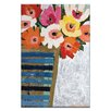 Artist Lane Country Flowers by Anna Blatman Painting Print on Canvas