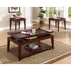 Brady Furniture Industries Broadview 3 Piece Coffee Table Set
