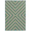 Oriental Weavers Riviera Blue/Ivory Geometric Rug