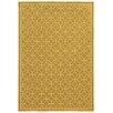 Oriental Weavers Riviera Gold/Ivory Geometric Area Rug