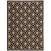 Oriental Weavers Belle Black Geometric Tile Area Rug