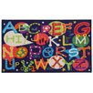 Oriental Weavers Reverie Alphabet Blue/Red Area Rug