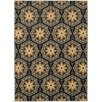 Oriental Weavers Steele Blue/Brown Floral Panel Area Rug