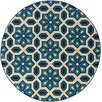 <strong>Oriental Weavers</strong> Caspian Ivory/Blue Indoor/Outdoor Rug