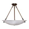 <strong>Alana 3 Light Bowl Chandelier</strong> by Whitfield Lighting