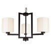 Whitfield Lighting Falcon 3 Light Drum Chandelier