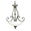 <strong>Whitfield Lighting</strong> Carla 2 Light Bowl Chandelier