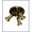 Whitfield Lighting Carol 3 Light Pan Light