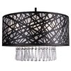 Whitfield Lighting Wynne 3 Light Drum Chandelier