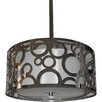 <strong>Whitfield Lighting</strong> Seiko 3 Light Drum Chandelier