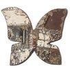 Ozark Folk Art Antique Tin Butterfly Shape Wall Art