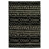 Rizzy Rugs Bayside Black Floral/Geometric Area Rug