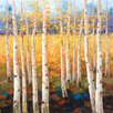 "Portfolio Canvas Decor ""Birch Forest"" Painting Print on Wrapped Canvas"