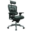 Eurotech Seating Ergohuman High-Back Mesh Manager Chair with Arms