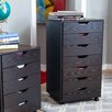 <strong>Zoey 7-Drawer Mobile Cabinet</strong> by Zipcode Design