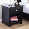 Zipcode Design Ava 1 Drawer Nightstand