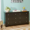 Zipcode Design Ava 6 Drawer Double Dresser