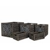 Baum 5 Piece Seagrass Basket Set