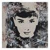 Wildon Home ® Audrey Hepburn Painting Print