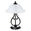 """Wildon Home ® 18.5"""" H Table Lamp with Bell Shade"""