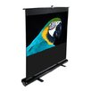 "<strong>Elite Screens</strong> MaxWhite ez-Cinema Series Floor Stand TeleScoping Pull Up Screen - 80"" Diagonal"