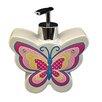 Homewear Linens Butterfly Dots Soap Dispenser