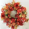 Dried Flowers and Wreaths LLC Opulent Poppy Wreath