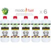 Moda Flame 1 Quart Bio Ethanol Fireplace Fuel Bottle (Set of 6)