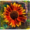 Gallery Direct Sunflower by Sia Aryai Painting Print Canvas in Red