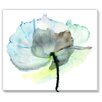 Gallery Direct Abstract Watercolor Flower by Regina Jersova Painting Print on Wrapped Canvas