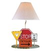 "Lite Source Highway Signs 22"" H Table Lamp with Empire Shade"
